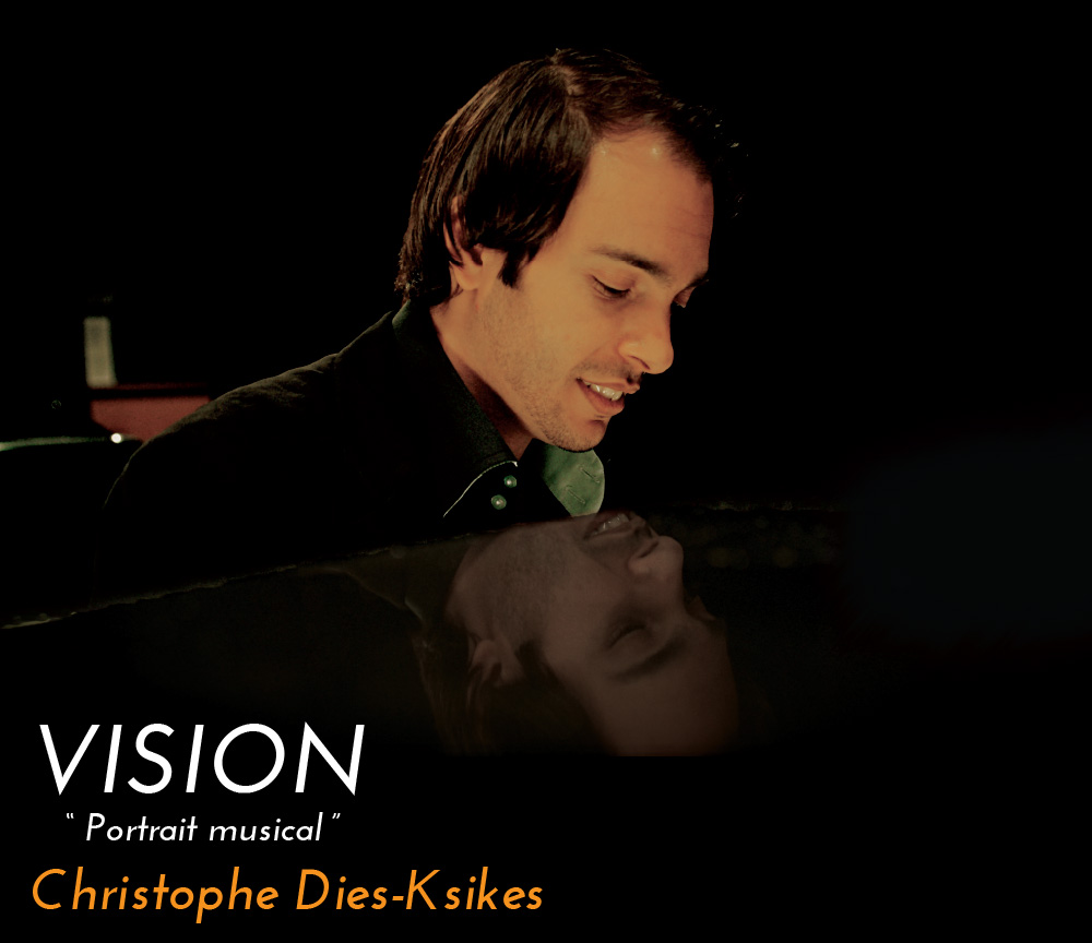 Debut album of the pianist and composer Christophe Diès